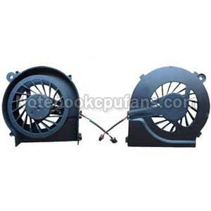 Replacement for Hp G42-372la fan