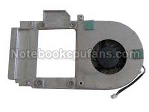 Replacement for Dell Latitude 120l fan