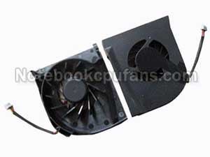 Replacement for Hp Gc055515vh-a fan