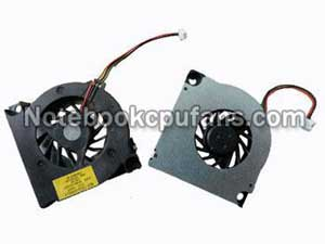 Replacement for Toshiba Gdm610000261 fan