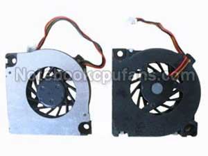 Replacement for Toshiba Gdm610000075 fan