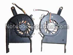 Replacement for Toshiba Gc054509vh-a fan