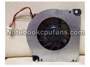 Replacement for Toshiba Satellite A10-s129 fan