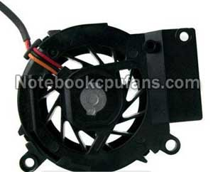 Replacement for Dell Inspiron 4000 fan