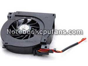 Replacement for Dell Latitude D500 fan