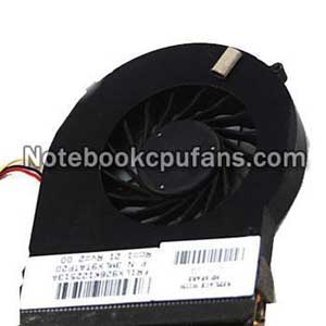 Replacement for Gateway NV570P20u-53334G75Dnik fan